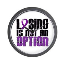 Losing Is Not An Option Epilepsy Wall Clock