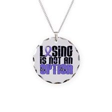 Losing Is Not An Option Esophageal Cancer Necklace