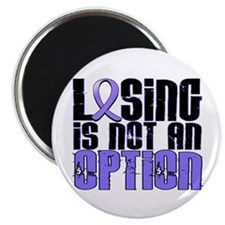 "Losing Is Not An Option Esophageal Cancer 2.25"" Ma"