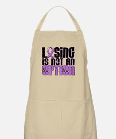 Losing Is Not An Option Hodgkin's Lymphoma Apron