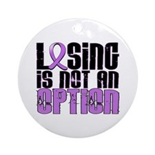 Losing Is Not An Option Hodgkin's Lymphoma Ornamen