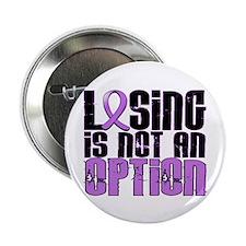 "Losing Is Not An Option Hodgkin's Lymphoma 2.25"" B"