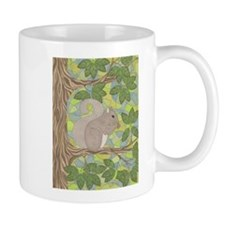 Grey Squirrel Mug