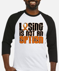 Losing Is Not An Option Leukemia Baseball Jersey