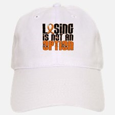 Losing Is Not An Option Leukemia Baseball Baseball Cap
