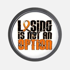 Losing Is Not An Option Leukemia Wall Clock