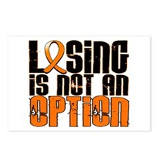 Losing Is Not An Option Leukemia Postcards (Packag