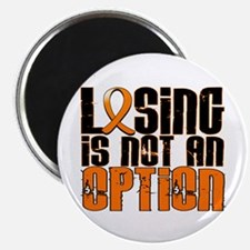 """Losing Is Not An Option Leukemia 2.25"""" Magnet (100"""