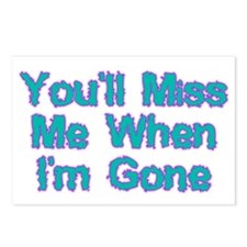 Miss Me Postcards (Package of 8)