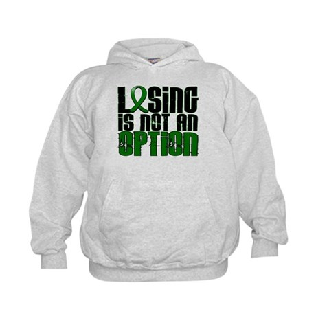 Losing Is Not An Option Liver Cancer Kids Hoodie