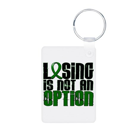 Losing Is Not An Option Liver Cancer Aluminum Phot