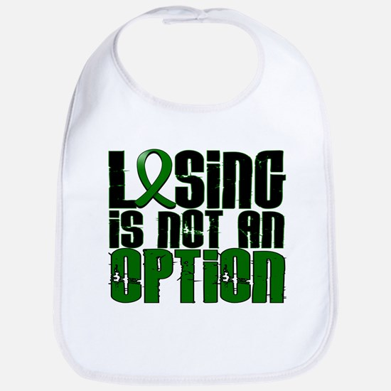 Losing Is Not An Option Liver Disease Bib