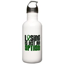 Losing Is Not An Option Liver Disease Water Bottle
