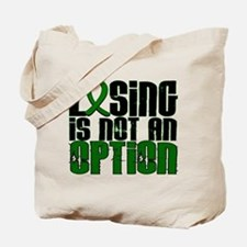 Losing Is Not An Option Liver Disease Tote Bag