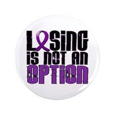 """Losing Is Not An Option Lupus 3.5"""" Button (100 pac"""