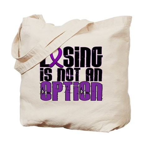Losing Is Not An Option Lupus Tote Bag