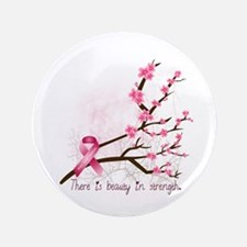 "Breast Cancer Awareness 3.5"" Button"