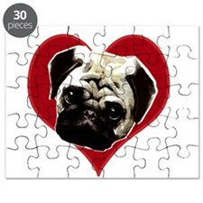 pug love Puzzle