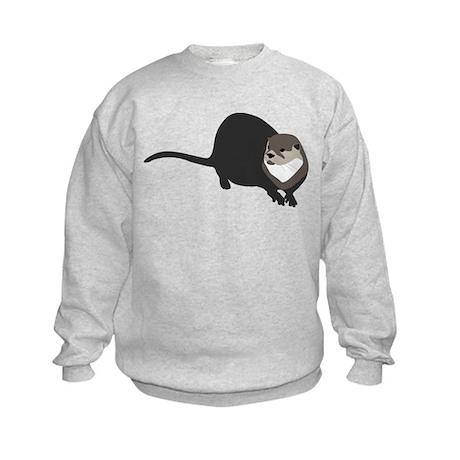 River Otter Kids Sweatshirt