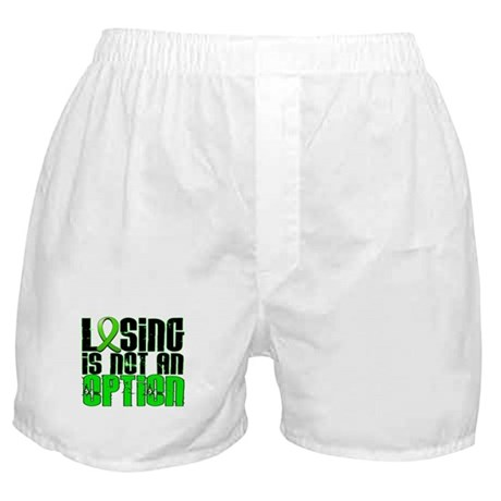 Losing Is Not An Option Lymphoma Boxer Shorts