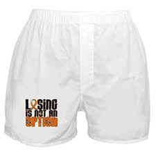 Losing Is Not An Option Multiple Sclerosis Boxer S