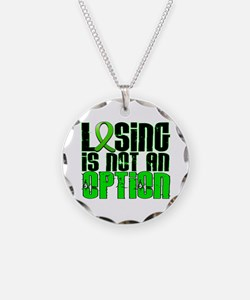 Losing Is Not An Option Muscular Dystrophy Necklac