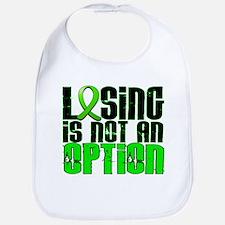 Losing Is Not An Option Non-Hodgkin's Lymphoma Bib