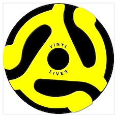 Vinyl Lives Poster
