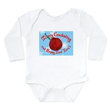 Merry Crocheting Long Sleeve Infant Bodysuit