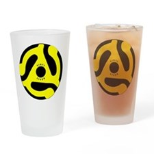 Vinyl Lives Drinking Glass