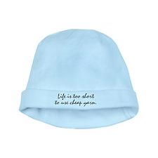Cheap Yarn baby hat