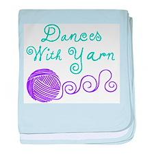 Dances with Yarn baby blanket