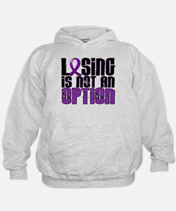 Losing Is Not An Option Pancreatic Cancer Hoodie