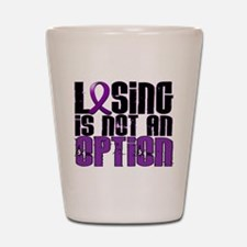 Losing Is Not An Option Pancreatic Cancer Shot Gla