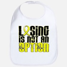 Losing Is Not An Option Sarcoma Bib