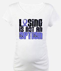 Losing Is Not An Option Prostate Cancer Shirt