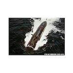 USS GUARDFISH Rectangle Magnet