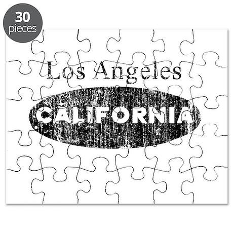 Vintage Los Angeles Californi Puzzle