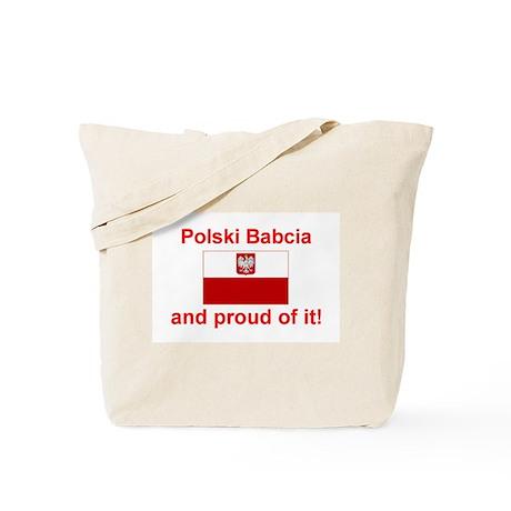 Polish Babcia(Grandmother) Tote Bag