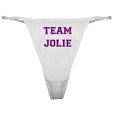 Team Jolie Purple Classic Thong