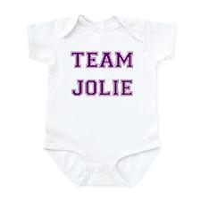 Team Jolie Purple Infant Creeper