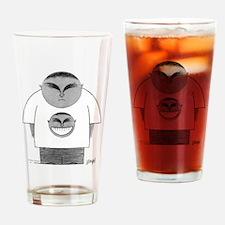Happy Tee Drinking Glass