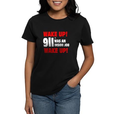 911 Was An Inside Job Women's Dark T-Shirt