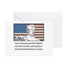 Abraham Lincoln Speech Blank Cards (6)