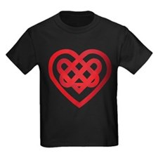 Red Celtic Knot Heart Valenti T