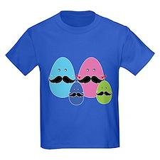 Moustache eggs family T