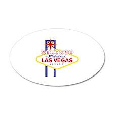 Las Vegas 22x14 Oval Wall Peel