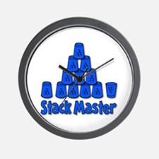 Stack Master Wall Clock