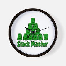 Stack Master Wall Clock