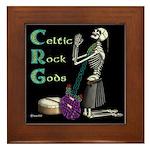 Celtic Skeleton Framed Tile